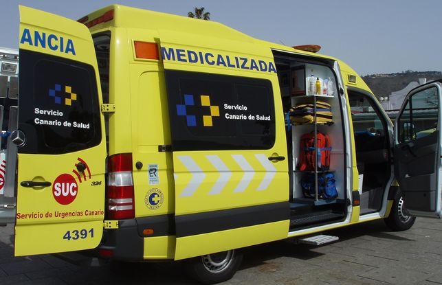Las bases del nuevo concurso de ambulancias de Canarias se publicarán antes de Mayo